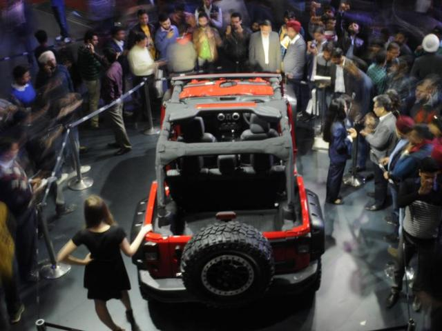 Close to 79,000 visitors on first public day of the Auto Expo 2016