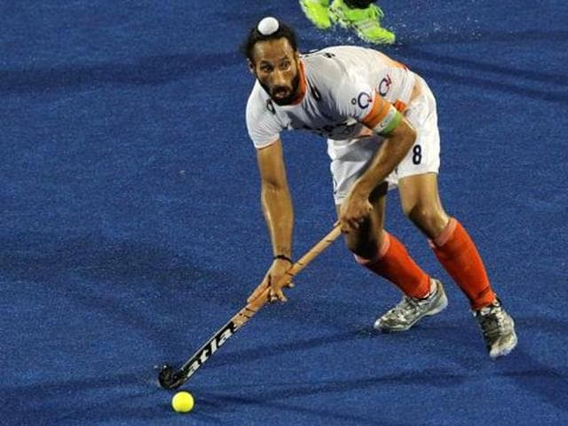 Sardar Singh met the British national for the first time after the 2012 London Olympics.
