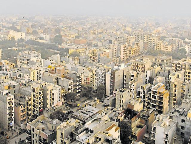 DLF Phase 3 was one of the first colonies to be developed in the early 1980s.