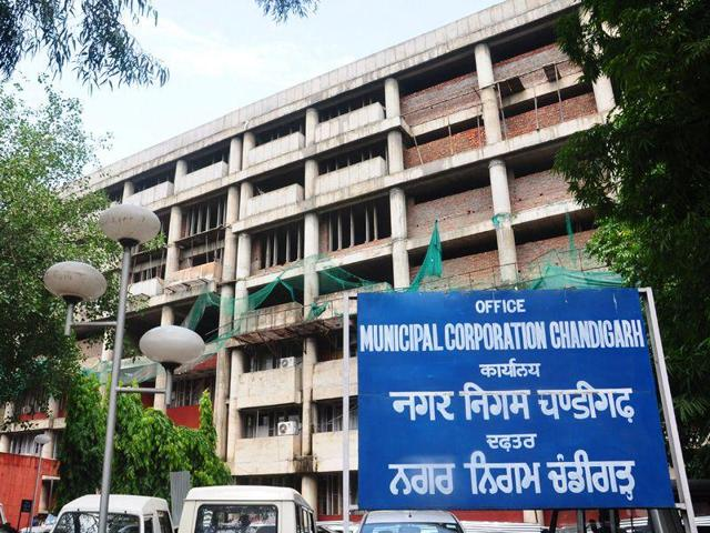 Municipal Corporation office, Chandigarh.HT Photo