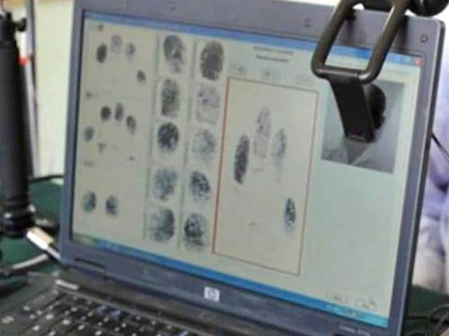 NCRB has planned to develop a comprehensive online database of fingerprints of criminals and convicts from every state by 2017.