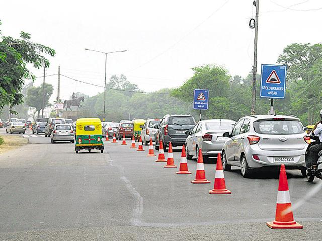 32-km green corridor from Gurgaon to Okhla at night helps save life