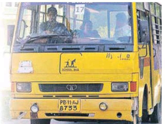 Over 300 school buses in the district were inspected by a special team formed by the Patiala administration.