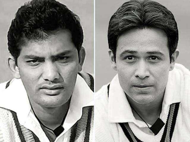 The actor has shared an exclusive image from the film with HT Café, in which he resembles the cricketer from his early days.