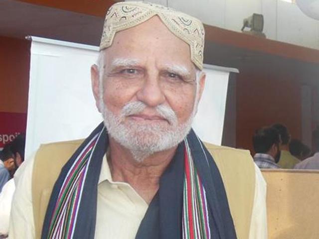 Mir Mohammad Ali Talpur: Voice of missing people in  Balochistan