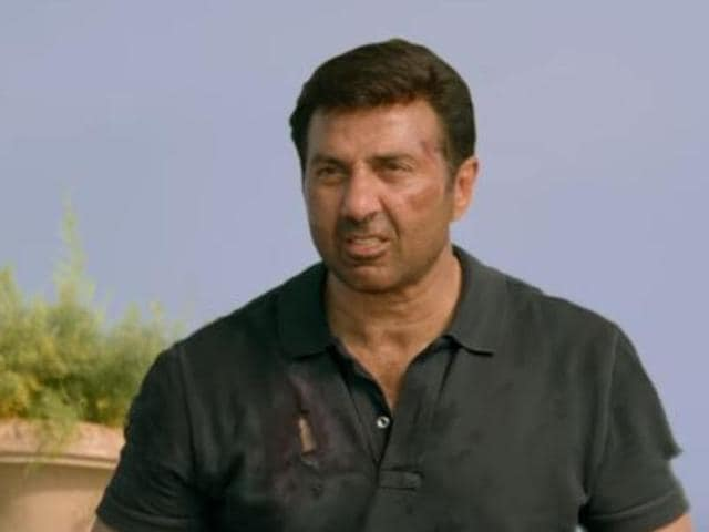 Sunny Deol in a still from Ghayal Once Again.