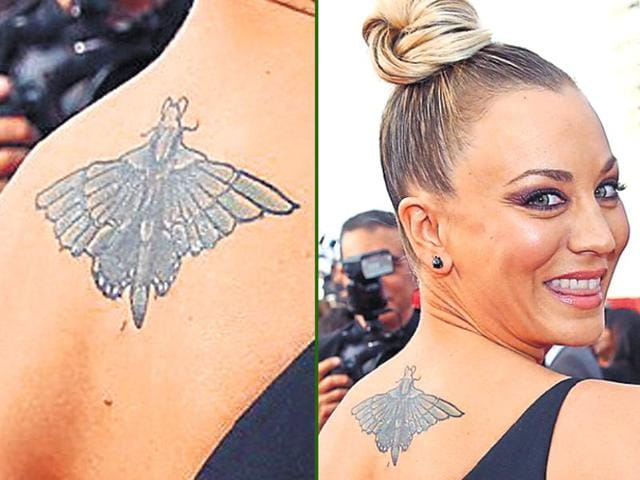 Sonakshi Sinha's tattoo might have been high on the hurt factor because of the tricky area.
