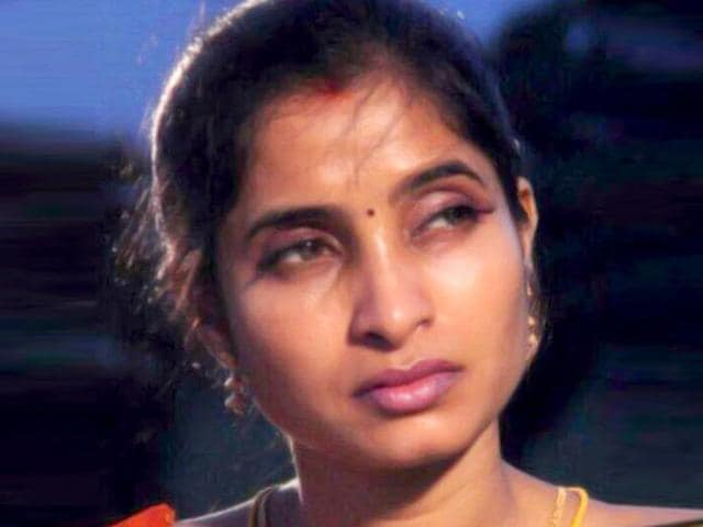 A file photo of Sasirekha, an aspiring Tamil actress. She was allegedly murdered and decapitated by her husband a month ago.