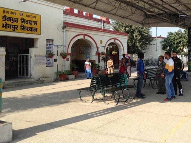 Bhogpur railway station