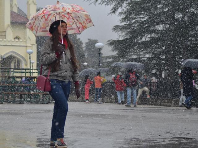 Fresh snowfall in Shimla, other Himachal towns; farmers, tourists cheer