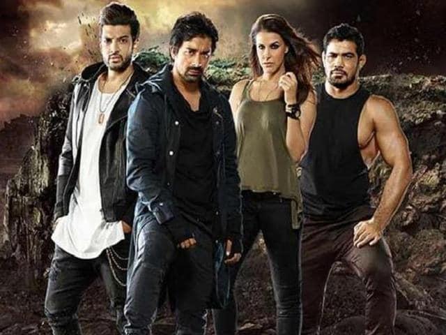 MTV Roadies,Neha Dhupia,Karan Kundra