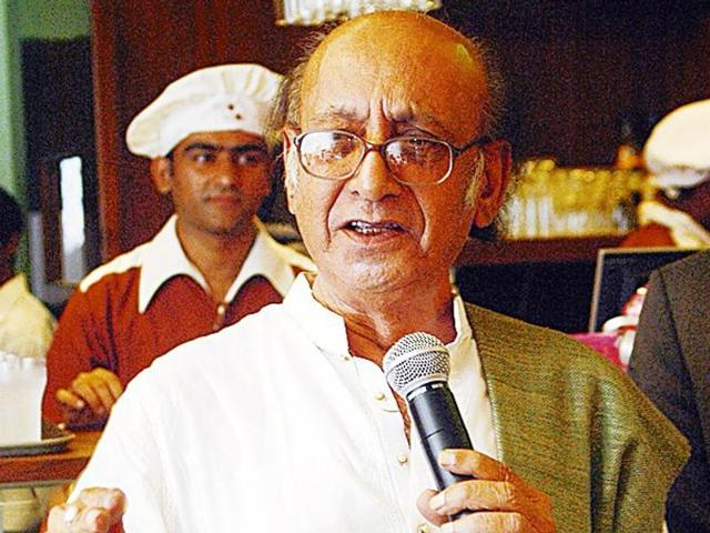 Poet Nida Fazli is known for his collaboration with the late ghazal singer Jagjit Singh.