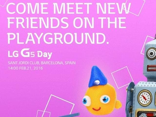 LG going head-on against Samsung at MWC 2016, hosting the launch of G5 several hours before the Galaxy S7