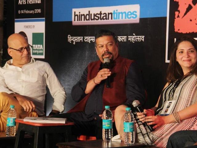Critic and editorial advisor to HT Vir Sanghvi with food critic Nicole Mody.