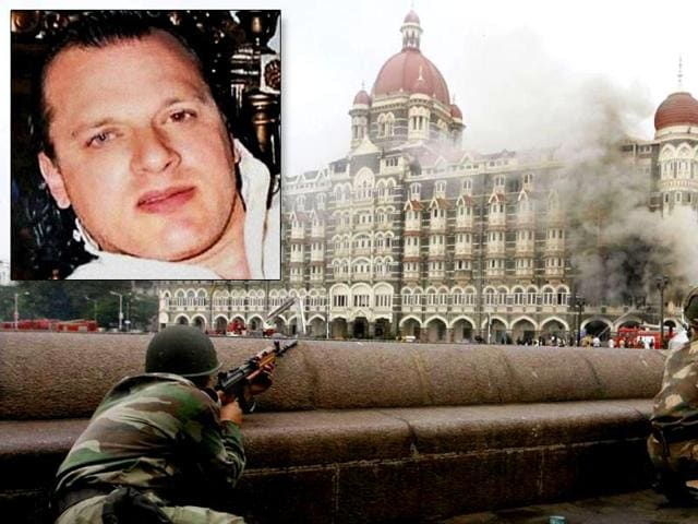 Combination photograph of Hafeez Saeed and David Headley