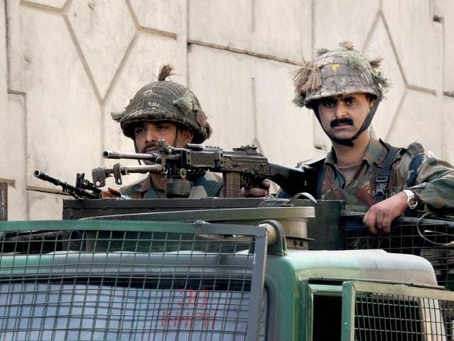 Prime Minister Narendra Modi taking stock of the situation at Pathankot airbase after all the attackers were gunned down. Investigations have raised serious doubts over the number of terrorists killed during last month's attack on the air force base.