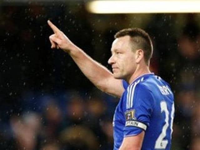 "John Terry, who has been at the London club since the age of 14 is often referred to as ""Mr Chelsea''."