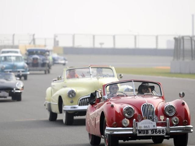 As many as 125 vintage cars and 65 motorcycles were part of the event.