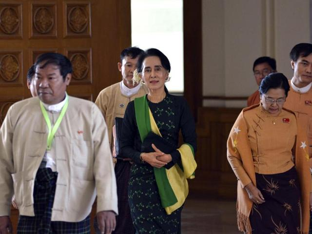 Reports hint Suu Kyi could become Myanmar president