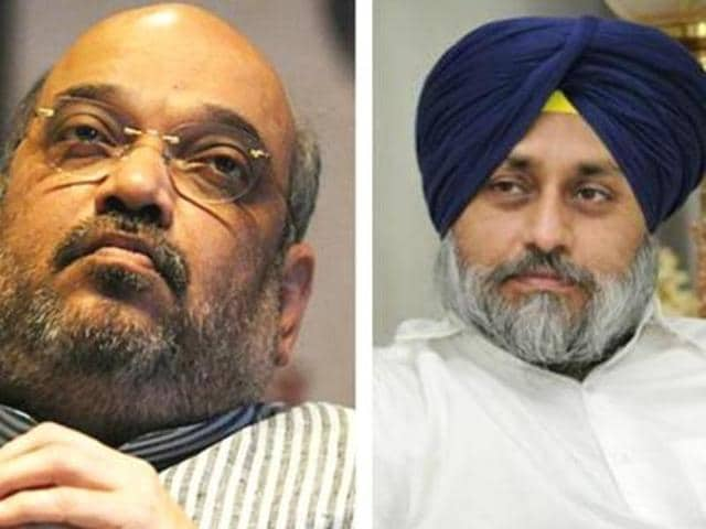 """""""The Akali Dal and BJP will not just contest the next election together but also elections in next 20 years. We will soon form a core committee to work on it and help improve coordination between the alliance partners,"""" Sukhbir told reporters after meeting Amit Shah."""