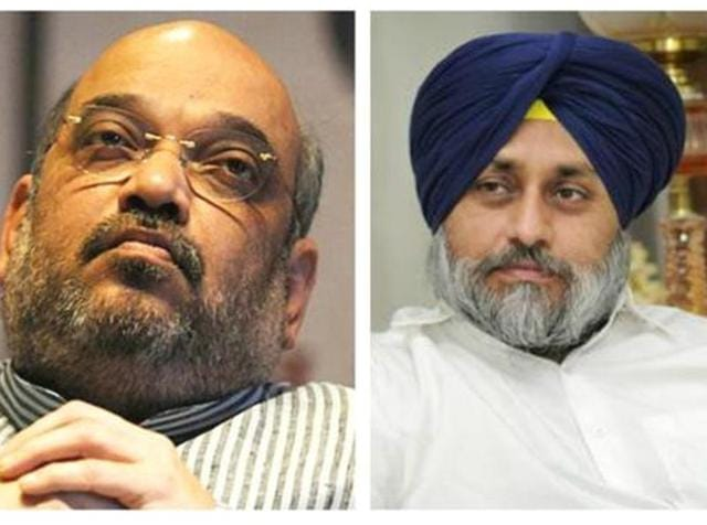 Punjab deputy chief minister Sukhbir Badal met finance minister Arun Jaitley on Monday and Shah on Tuesday to discuss future course of action.