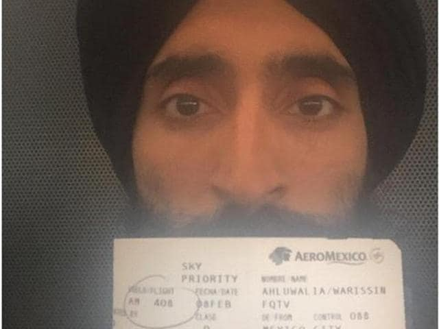 Ahluwalia fame posted his photograph with his flight ticket on photo-sharing app Instagram and claimed that he was denied boarding because he refused to remove his turban.