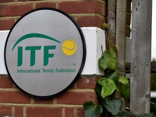 Two tennis umpires were banned last year for breaches of the sport's code of conduct for officials, the world governing body the International Tennis Federation (ITF) said on Tuesday.