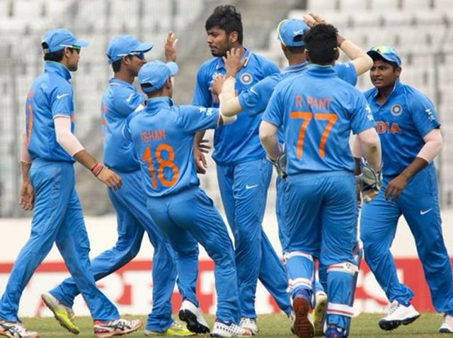 Indian colts defeat SL by 97 runs to reach ICC U-19 World Cup final