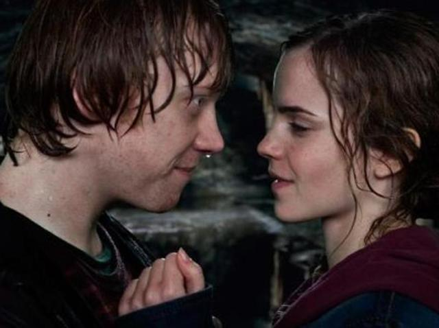 Ron believes Ron, Hermione would have ended in divorce