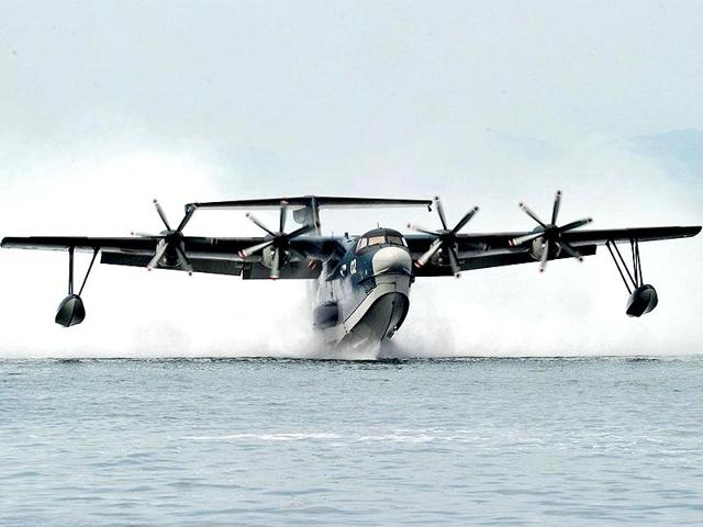 The Centre is working on a proposal to ply an amphibious aircraft on the Ganga between Varanasi and Kolkata and has a target of developing 111 waterways in the country.