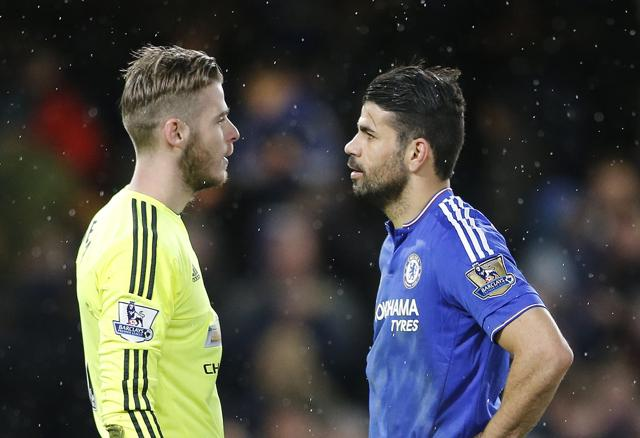 Diego Costa's late equalizer  for  Chelsea not only secured a point for his side, but ensured the pressure was back on under-fire Manchester United coach Louis van Gaal.