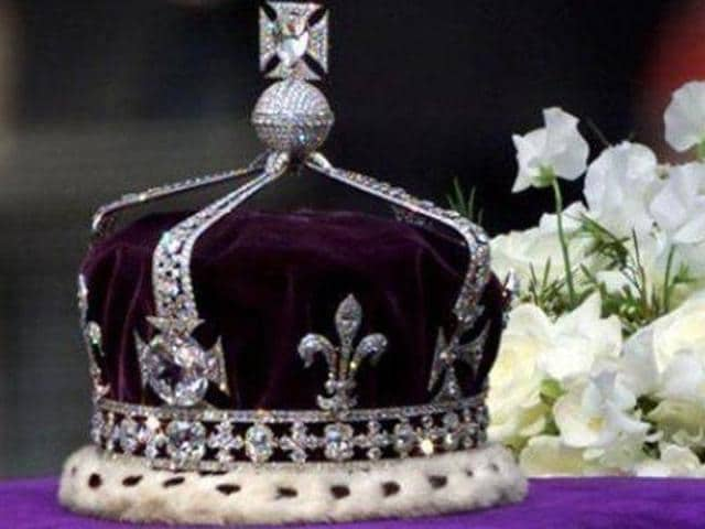 The Koh-i-Noor diamond is now part of the British Monarch's Crown Jewels.