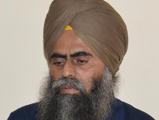 File photo of Devinder Pal Singh Bhullar who has been in jail since 1995 after being convicted of a blast in New Delhi.