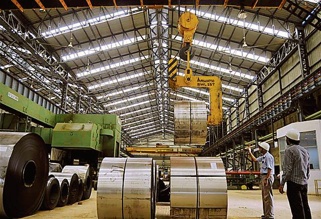 A revival in the industrial sector is expected to boost India's economy. However, data suggests that the output isn't enough to push growth.