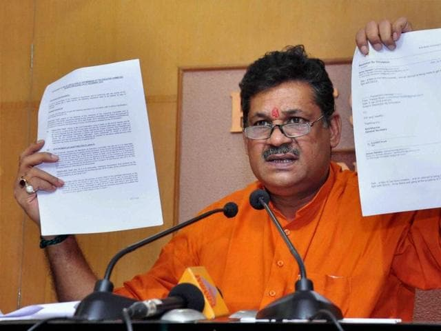 Suspended BJP MP Kirti Azad alleges the DDCA is a den of corruption.