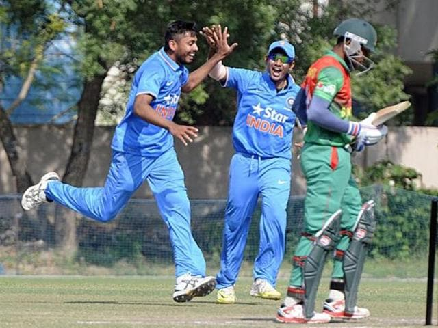 Pacer Avesh Khan has been among the wickets at the Under-19 World Cup.