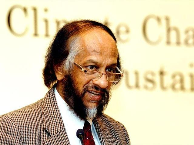 RK Pachauri on Monday assumed a newly created post of executive vice-chairman in TERI even as Mathur replaced him as director-general.(Hindustan Times)