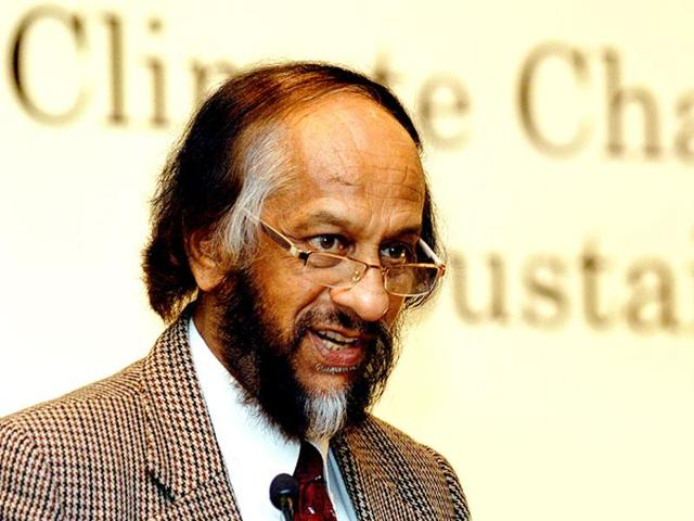 RK Pachauri resigned as the chairperson of Intergovernmental Panel on Climate Change (IPCC) following accusation of sexual harassment.(HT File Photo)