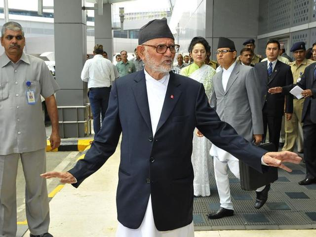 File photo of Nepal's Prime Minister and president of Nepali Congress Sushil Koirala.