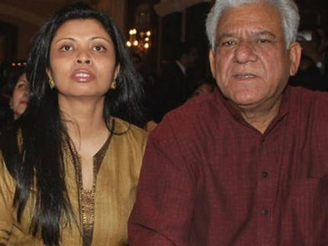 Om Puri, wife Nandita part ways after 26 years of marriage