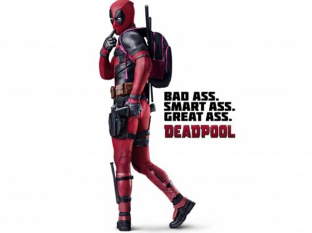 Deadpool is coming on Valentine's weekend.