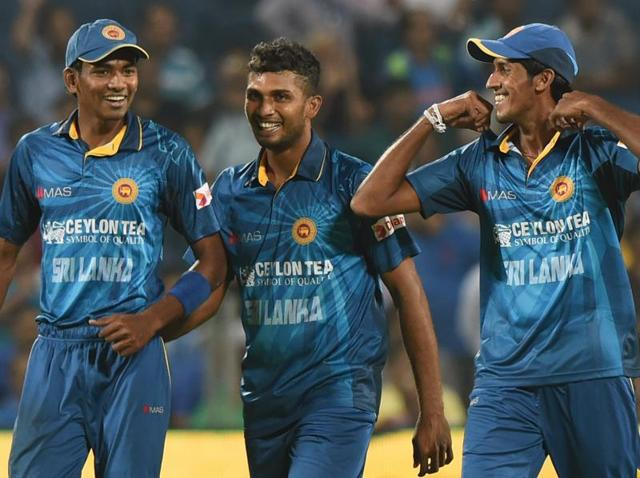 Sri Lanka's bowlers Dusmantha Chameera , Dasun Shanaka and Kasun Rajitha srecked havoc against India in the first T20 match at Pune.