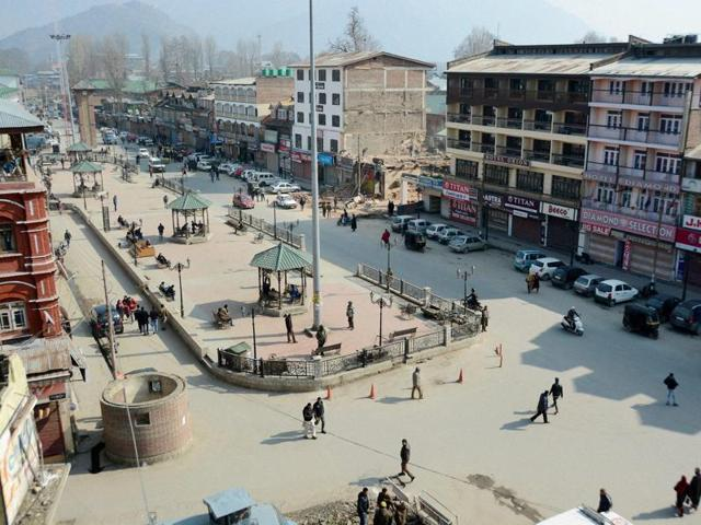 Shutdown hits Kashmir on Afzal Guru's death anniversary