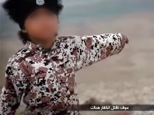 IS video shows 4-year-old UK boy blowing up car with prisoners