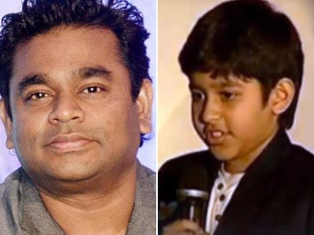 AR Rahman's son makes Telugu singing debut in Nirmala Convent
