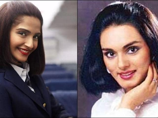 Sonam Kapoor plays PanAm flight stewardess Neerja Bhanot in the film. The film has been banned in Pakistan for showing the country in a negative light.