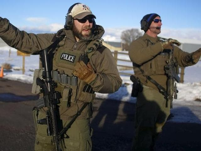 Negotiations between the occupiers and the FBI were ongoing and no shots had been fired, the Federal Bureau of Investigation said, on the 40th day of the standoff.