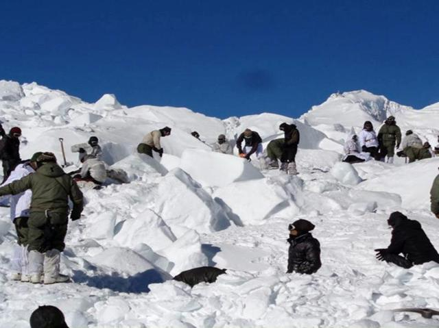 Soldiers have to endure extreme weather conditions at the world's highest battlefield on the Siachen Glacier.