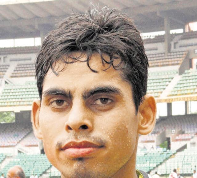 MP long jumper,Ankit Sharma,12th South Asian Games