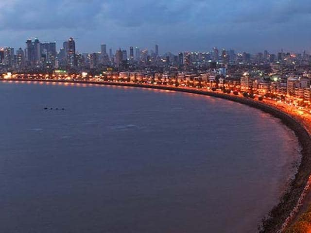Marine Drive, Mumbai's iconic promenade. A British newspaper plans to revert to the old city name.